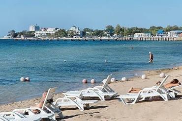 """фото пляж, Отель """"Империя"""", Евпатория"""