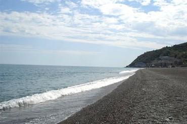 """фото пляж, Пансионат """"Волна"""", Алушта"""