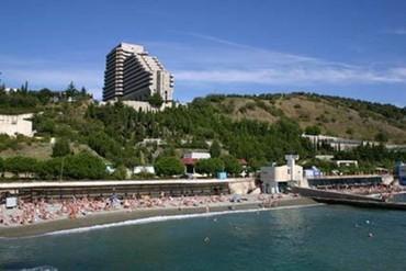 """фото пляж, Пансионат """"Голубая Волна"""", Алушта"""
