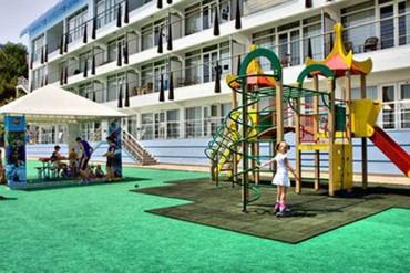 """фото детская площадка, Отель """"Левант"""", Ялта"""