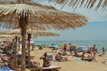 """фото пляж, База отдыха """"Коронелли"""", Феодосия"""