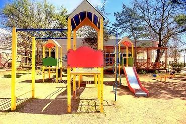 """фото детская площадка, Дом отдыха """"Федор Шаляпин"""", Евпатория"""