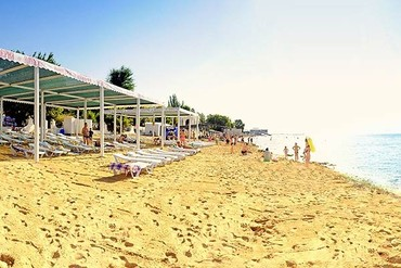 """фото пляж, Дом отдыха """"Федор Шаляпин"""", Евпатория"""