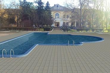 """фото бассейн, Отель """"Романова"""", Евпатория"""