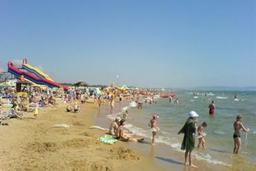 """фото пляж, Отель """"Оливия"""" (Витязево), Анапа"""