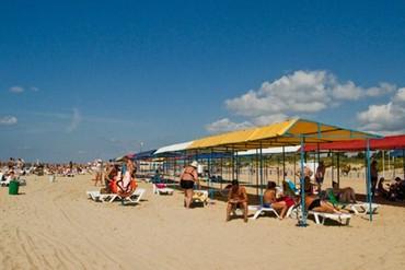 """фото пляж, Пансионат """"Южный Парус"""" (бывш. """"Парус""""), Анапа"""