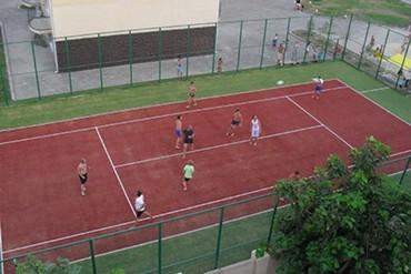 """фото теннисный корт, Пансионат """"Фея-3"""", Анапа"""