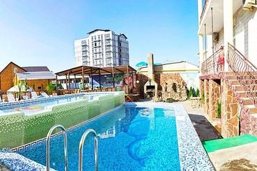 """фото бассейн, Отель """"Оливия"""" (Витязево), Анапа"""