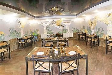 """фото ресторан, Отель """"Оливия"""" (Витязево), Анапа"""