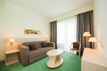 """фото Люкс 2-местный 2-комнатный, Сочи парк отель (бывш. """"Азимут""""), Сочи"""