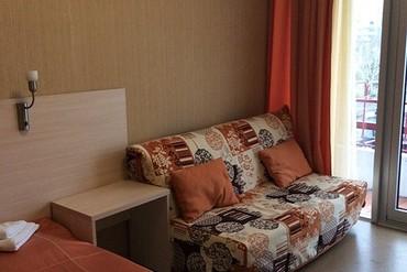 """фото Студио 2-местный, ALEAN FAMILY RESORT & SPA BIARRITZ / Биарриц отель (бывш. """"Сосновая роща""""), Геленджик"""