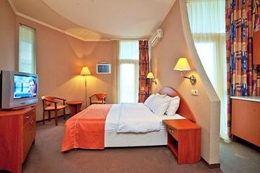 """фото Студио, ALEAN FAMILY RESORT & SPA BIARRITZ / Биарриц отель (бывш. """"Сосновая роща""""), Геленджик"""