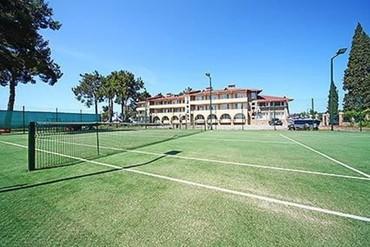 """фото теннис, Отель """"Дельфин"""", Абхазия"""