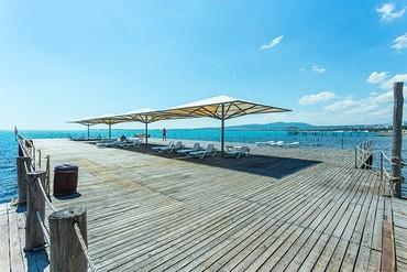 """фото море, ALEAN FAMILY RESORT & SPA BIARRITZ / Биарриц отель (бывш. """"Сосновая роща""""), Геленджик"""