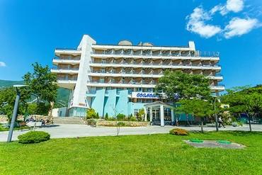 """фото общий вид, ALEAN FAMILY RESORT & SPA BIARRITZ / Биарриц отель (бывш. """"Сосновая роща""""), Геленджик"""