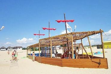 "фото пляж, Отель ""Ателика Гранд-Прибой"", Анапа"