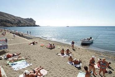 """фото пляж, Туристско-оздоровительный комплекс """"Горизонт (Судак)"""", Судак"""