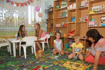 """фото детская комната, Туристско-оздоровительный комплекс """"Горизонт (Судак)"""", Судак"""