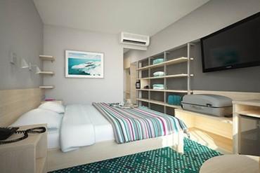 """фото Стандартный 2-местный с одной двуспальной кроватью, Отель """"Ялта-Интурист"""", Ялта"""
