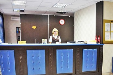 "фото ресепшн, Отель ""Ателика Гранд-Прибой"", Анапа"