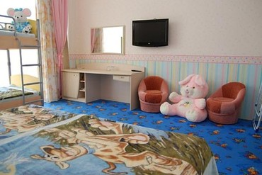 """фото Детский номер в новом корпусе, Отель """"Прометей Клуб"""", Сочи"""
