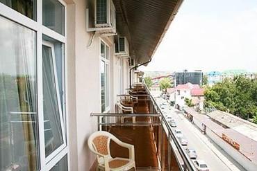 """фото вид с балкона, Отель """"Ателика Гранд-Прибой"""", Анапа"""