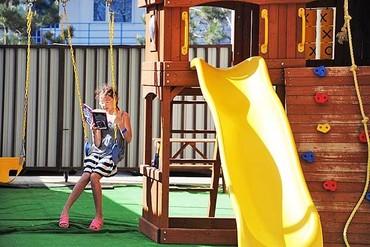 """фото детская площадка, Отель """"Ателика Гранд-Прибой"""", Анапа"""