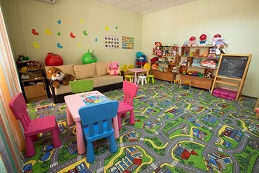 "фото детская комната, Отель ""Ателика Гранд-Прибой"", Анапа"