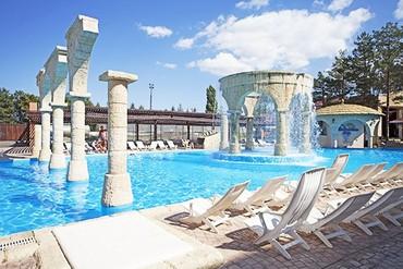 фото бассейн, ALEAN FAMILY RESORT & SPA RIVIERA (бывш. «Ривьера-клуб» Отель&SPA), Анапа