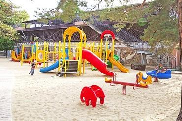 фото детская площадка, ALEAN FAMILY RESORT & SPA RIVIERA (бывш. «Ривьера-клуб» Отель&SPA), Анапа