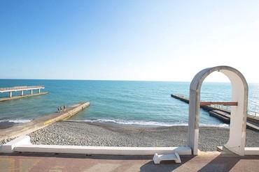 """фото пляж, Отель """"Орджоникидзе"""", Сочи"""