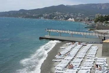 """фото пляж, Пансионат """"Массандра"""", Ялта"""