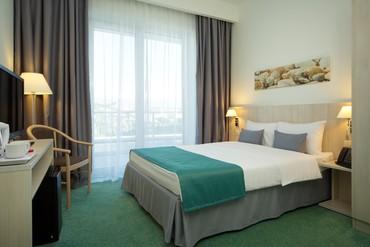 """фото Стандарт одноместный, стандарт одноместный для людей с огр физ возможностями, Сочи парк отель (бывш. """"Азимут""""), Сочи"""