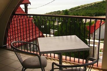 """фото вид с балкона, Пансионат """"Аквамарин"""" (Сукко), Анапа"""