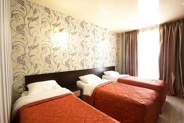 """фото Стандарт 3-местный 1-комнатный, Отель """"Олимп"""", Анапа"""