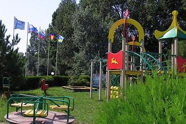 """фото Детская площадка, Пансионат """"Золотая Линия"""", Анапа"""