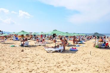 "фото Пляж, Отель ""Олимп"", Анапа"