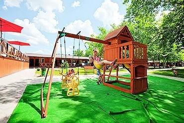 """фото Детская площадка, Гостиничный комплекс """"Эмеральд """", Анапа"""