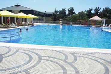 """фото бассейн, Пансионат """"Кубань"""", Геленджик"""