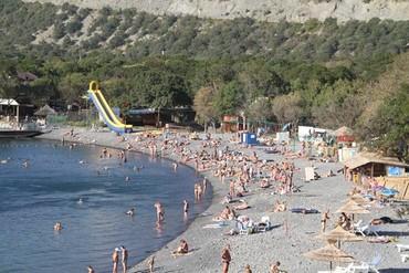"""фото пляж, Пансионат """"Гольфстрим"""", Анапа"""