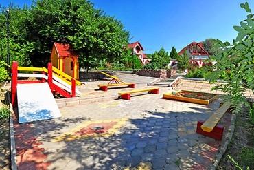"""фото детская площадка, Пансионат """"Аквамарин"""" (Сукко), Анапа"""