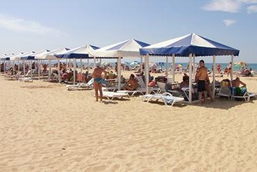 """фото Пляж, База отдыха """"Афалина"""", Анапа"""