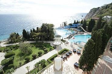 """фото общий вид, Отель """"Пальмира-Палас"""", Ялта"""