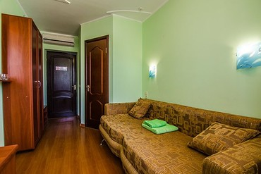"""фото стандарт 1-местный, Отель """"Лиана"""", Евпатория"""