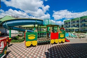 """фото детская площадка, Отель """"Лиана"""", Евпатория"""
