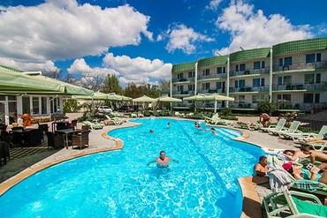 """фото бассейн, Отель """"Лиана"""", Евпатория"""