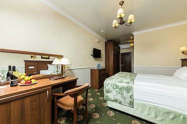 """фото Стандарт 4-местный 2-комнатный, ALEAN FAMILY RESORT & SPA DOVILLE отель (бывш. """"Довиль Отель & SPA"""" SPA-Отель), Анапа"""