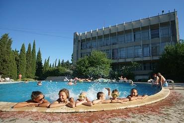 """фото бассейн, ТОК """"Чайка"""", Алушта"""