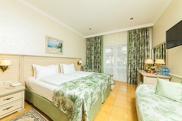 """фото Супериор 2-местный 1-комнатный, ALEAN FAMILY RESORT & SPA DOVILLE отель (бывш. """"Довиль Отель & SPA"""" SPA-Отель), Анапа"""