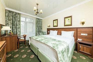 """фото Стандарт 2-местный 1-комнатный, ALEAN FAMILY RESORT & SPA DOVILLE отель (бывш. """"Довиль Отель & SPA"""" SPA-Отель), Анапа"""